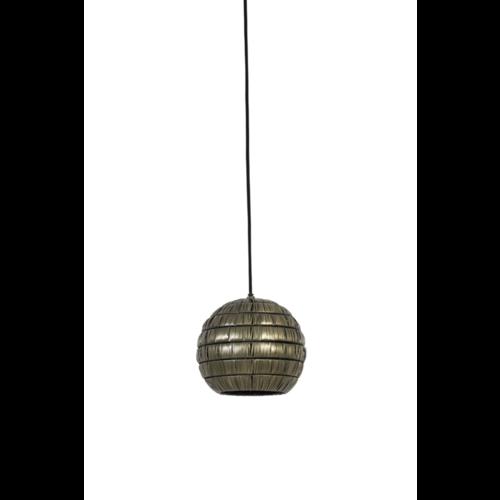 Hanglamp Gaia antiek brons in 4 maten