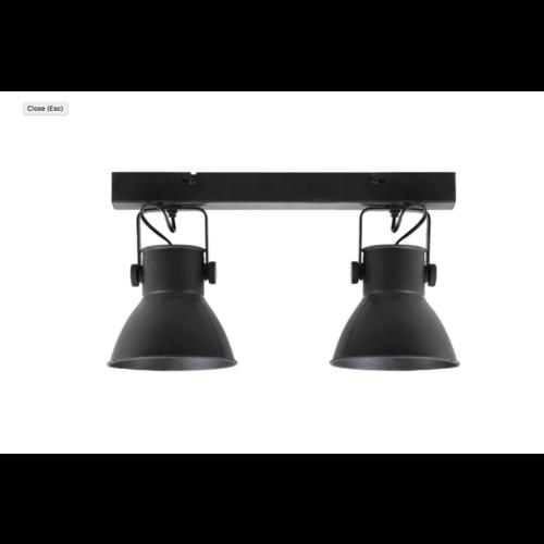 Hanglamp Onna mat zwart in 2 maten
