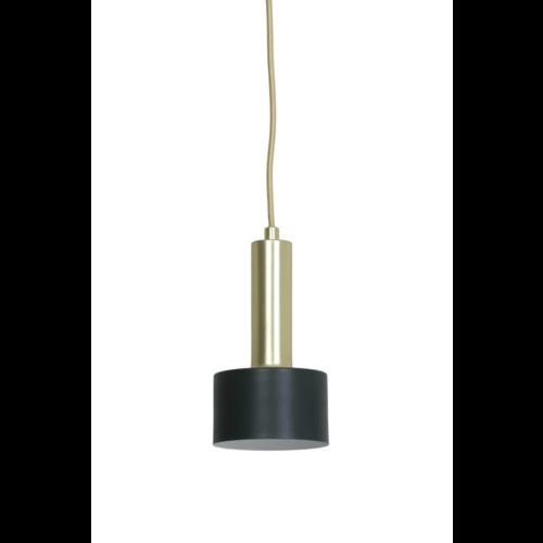 Hanglamp Gorgette groen en goud in 2 maten