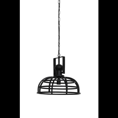 Hanglamp Gianda mat zwart in 2 maten