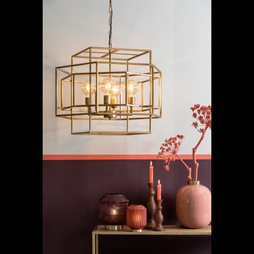 Hanglamp Gurna antiek goud