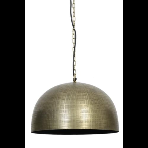 Hanglamp Harper zwart en antiek brons in 2 variaties