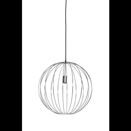 Hanglamp Hazel chroom in 2 maten
