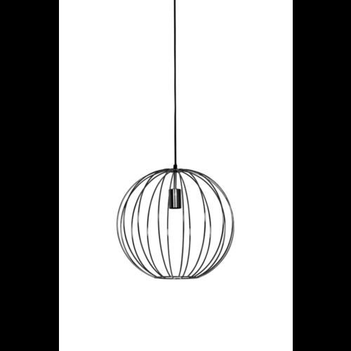 Hanglamp Hazel mat zwart in 2 maten