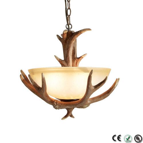 Hanglamp Hert - 1 kap - 3 lichts