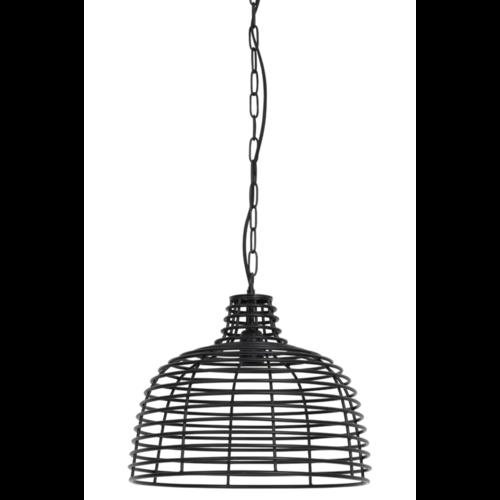 Hanglamp Hensley mat zwart