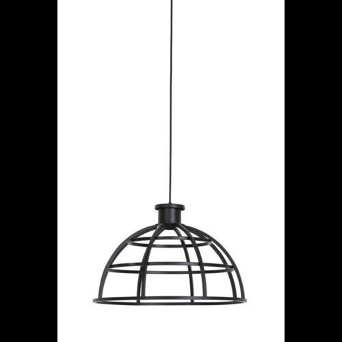 Hanglamp Hanna mat zwart in 2 maten