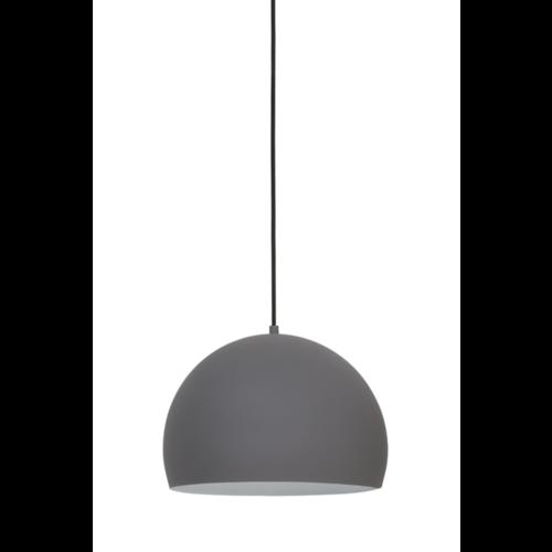 Hanglamp Hollis cement-wit in 2 maten