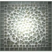 TV-Kast transparant mozaiek