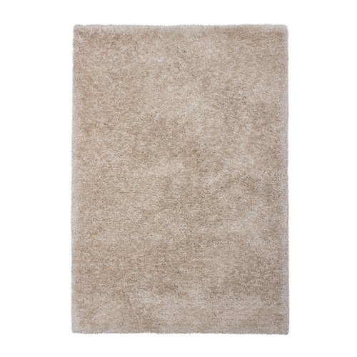 Vloerkleed Alan polyester zandkleur in 4 maten