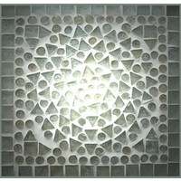 Dressoir/Tv-kast transparant mozaiek