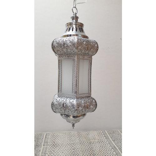 Oriëntaalse hanglamp Jaia  filigrain zilver