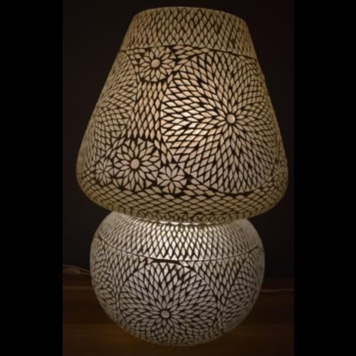 Tafellamp Beza transparant ster 60cm