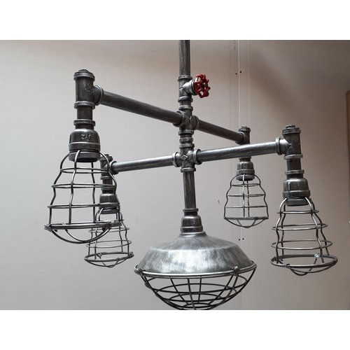 Industriele hanglamp Underground - showroommodel SALE