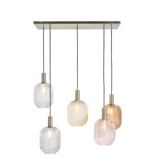 Hanglamp Maxime + 5 led lampen cadeau