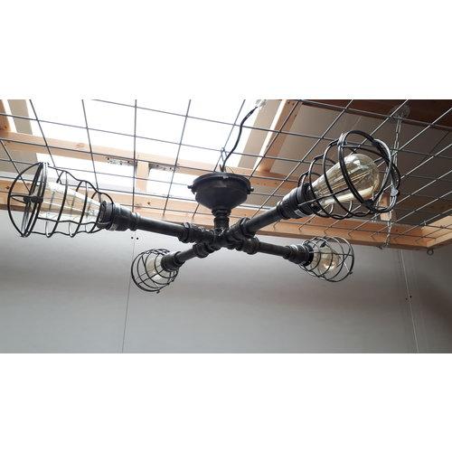 Industriele plafondlamp Negan - showroommodel SALE