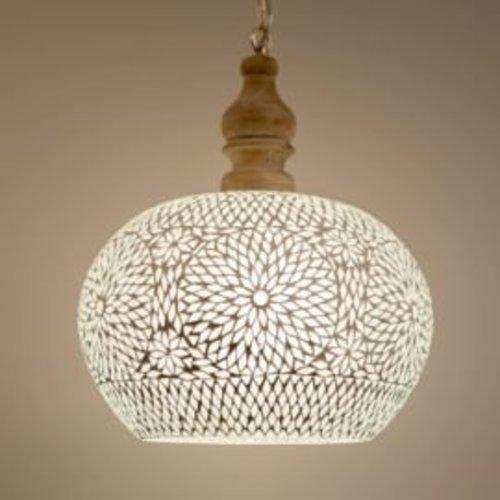 Hanglamp Roya open wit