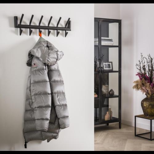 Garderobe Leonid grijs 2x6 of 2x8 haaks