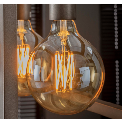 Lichtbron LED filament bol Ø12,5 in 2 kleuren