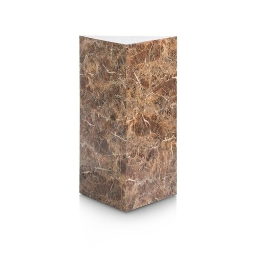 Pilaar Marble Look - bruin