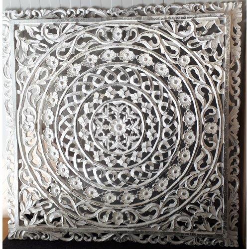 Wandpaneel Zilver model 2 zonder verlichting