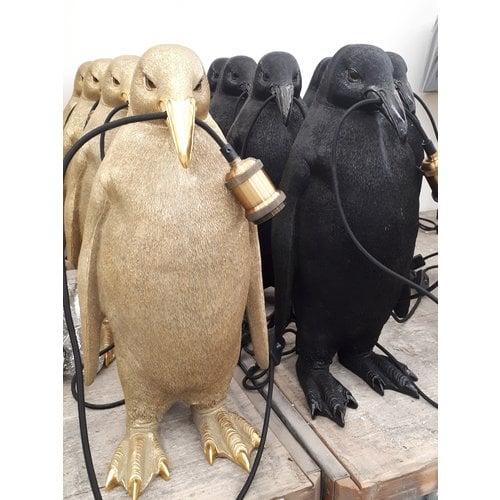 Tafellamp Pinguïn in 2 kleuren + ledlamp cadeau