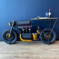 Motor industrieel zwart/goud