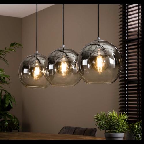 Hanglamp Henderson 3L + 3 led lampen cadeau