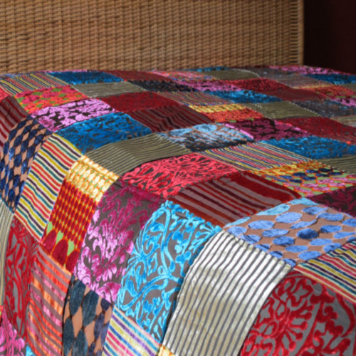 Bedsprei Patchwork Oosters Multi-Colour in 2 maten