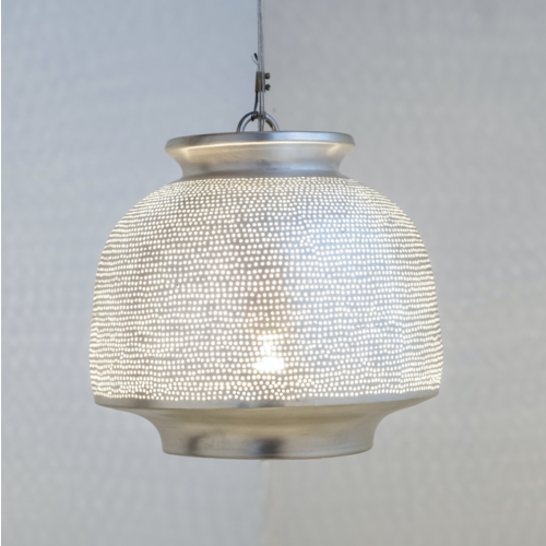 Hanglamp Ur Wire Zilver Small