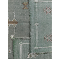 Oosters kussen Amun Groen in 2 maten
