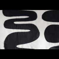 Sierkussen Maia Zwart-Wit