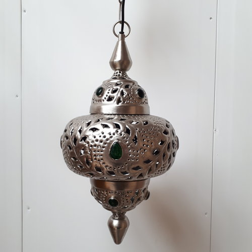 Marokkaanse hanglamp Cairo groen - SALE