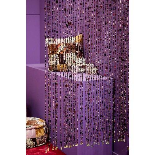 Gordijn Aneesha paars + embrasse cadeau - maatwerk mogelijk