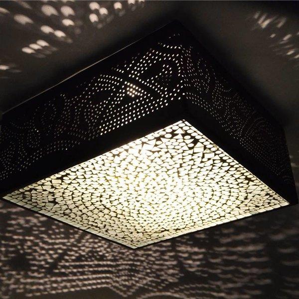 Plafondlamp Gaatjes/Mozaiek