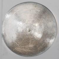 Egyptische plafondlamp mat zilver