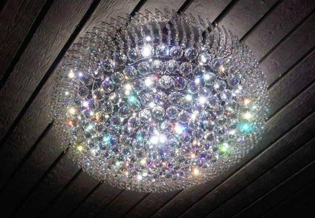 Kristallen Plafonniere : Mooie kristallen plafondlamp in 4 maten depauwwonen