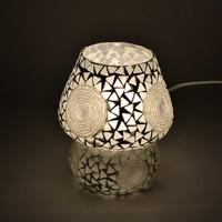 Tafellamp pad transparant mozaiek