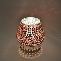 Tafellamp pad paars mozaiek