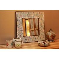Spiegel gekleurd mozaiek
