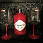 Geschenkset Glitzer Geschenkset (Flasche + Box) Hendrick's Gin
