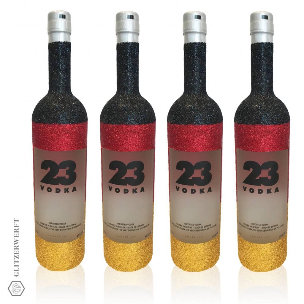 Vodka Glitzer Deutschland Vodka 23 (0,7l)