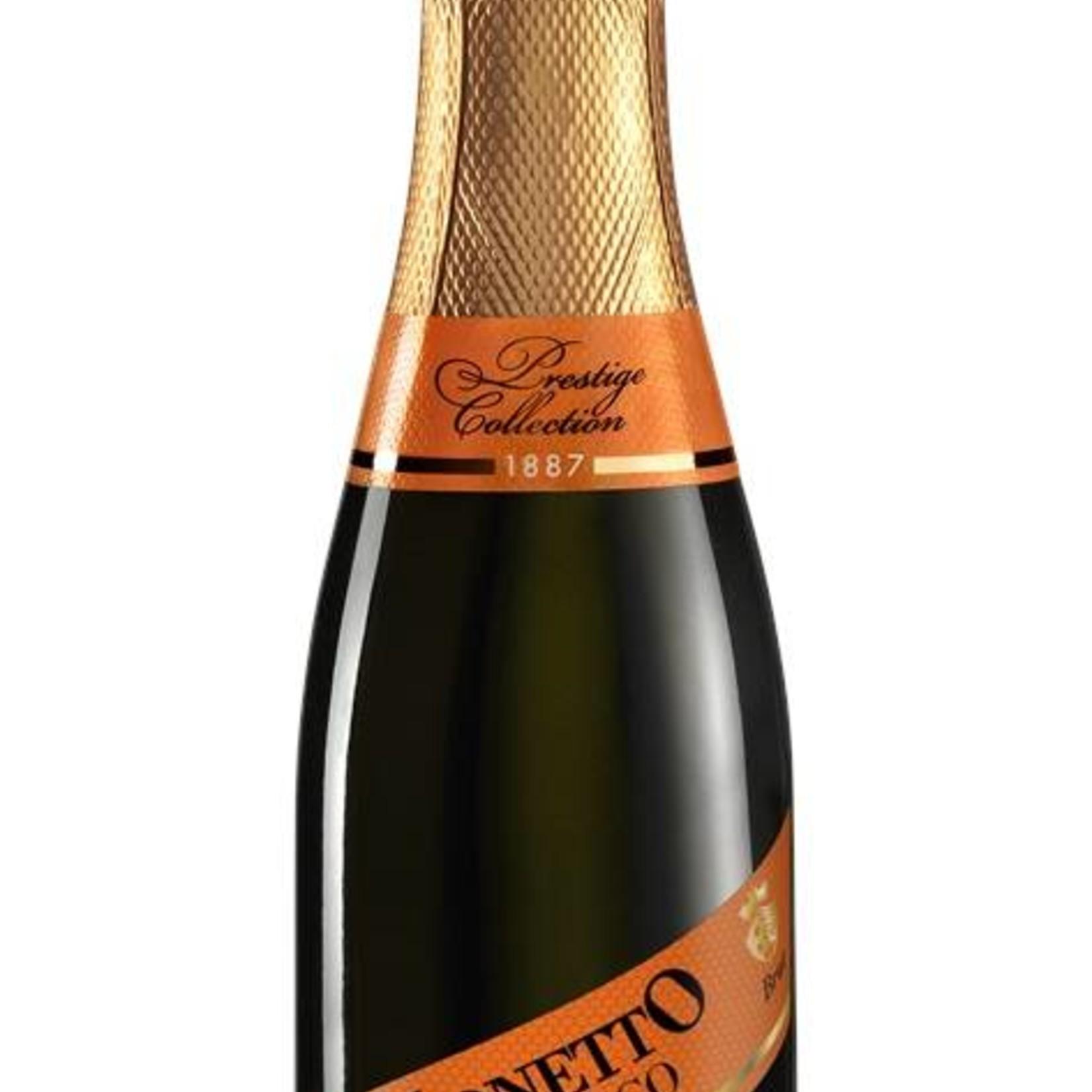 Champagner & Secco Glitzer Piccolo Mionetto Prosecco Spumante  (0,35l)