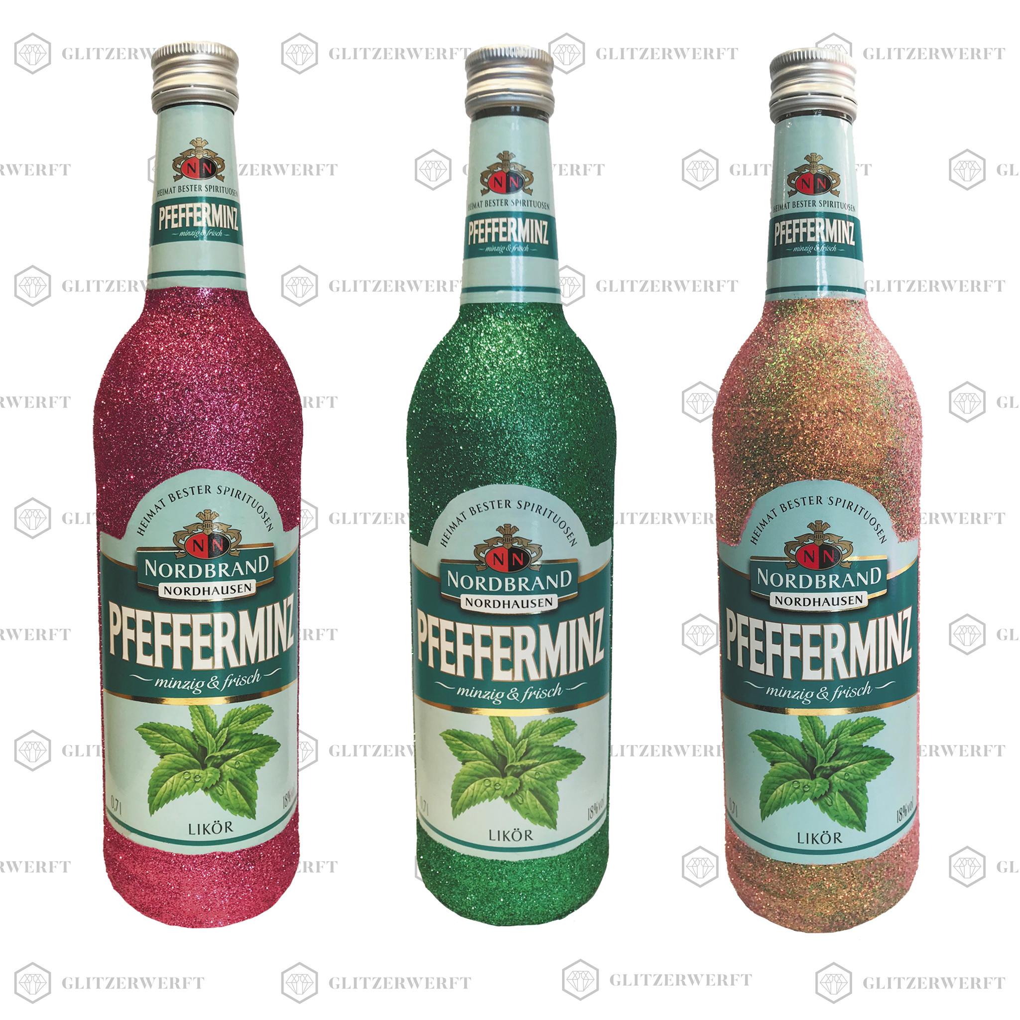 Glitzer Pfeffi - Glitzerflasche