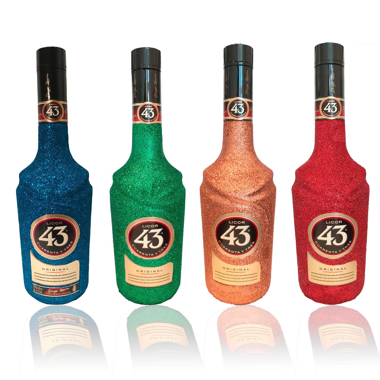 Glitzer Licor 43 - Glitzerflasche