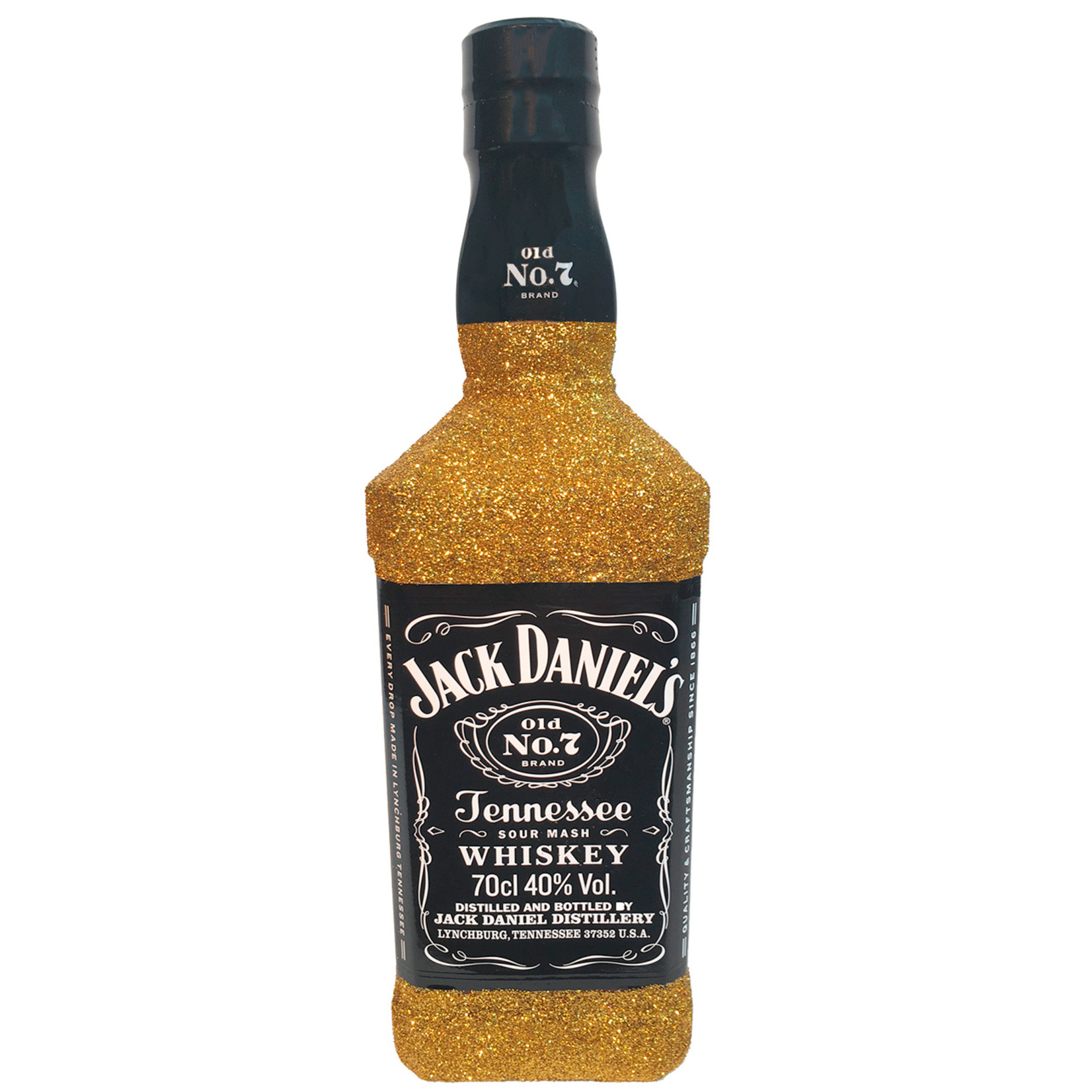 Whisky Glitzer Jack Daniels Old No. 7 (0,7l)