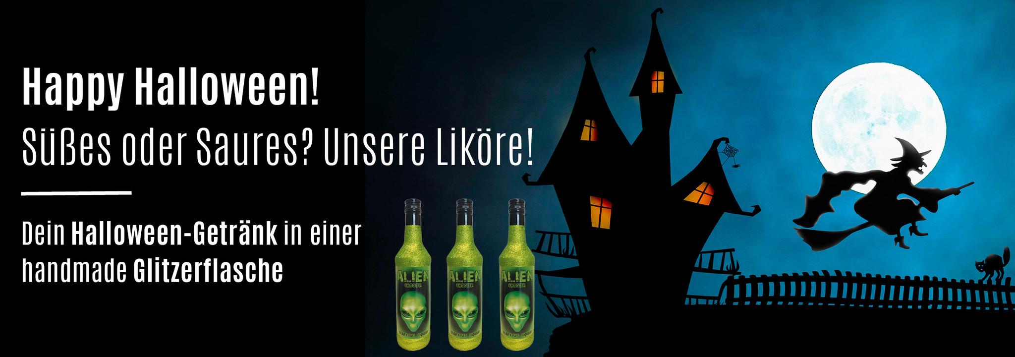 Halloween - Dieses Jahr mit Glitzer und der original Glitzerflasche