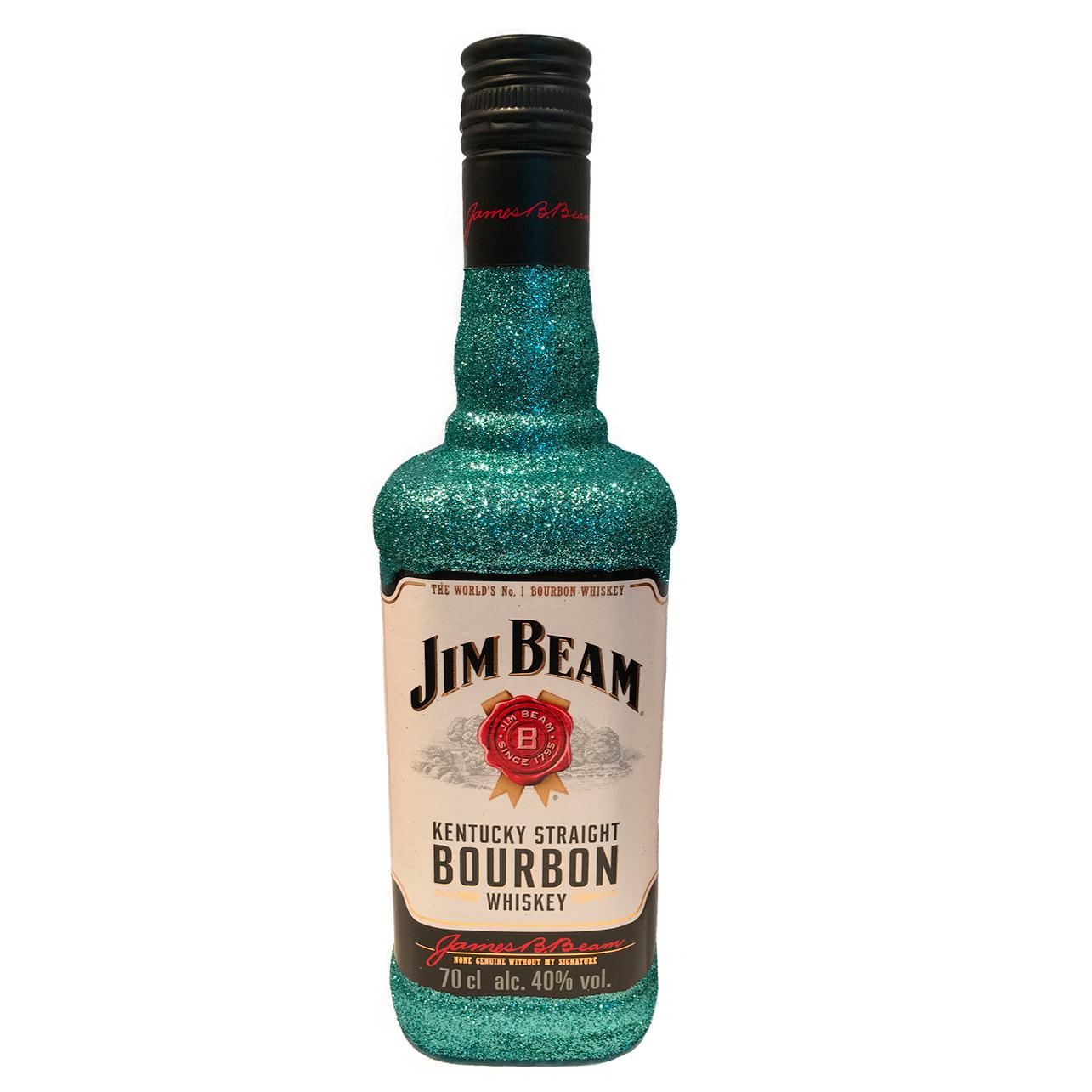 Jim Beam Glitzerflasche Ice Mind