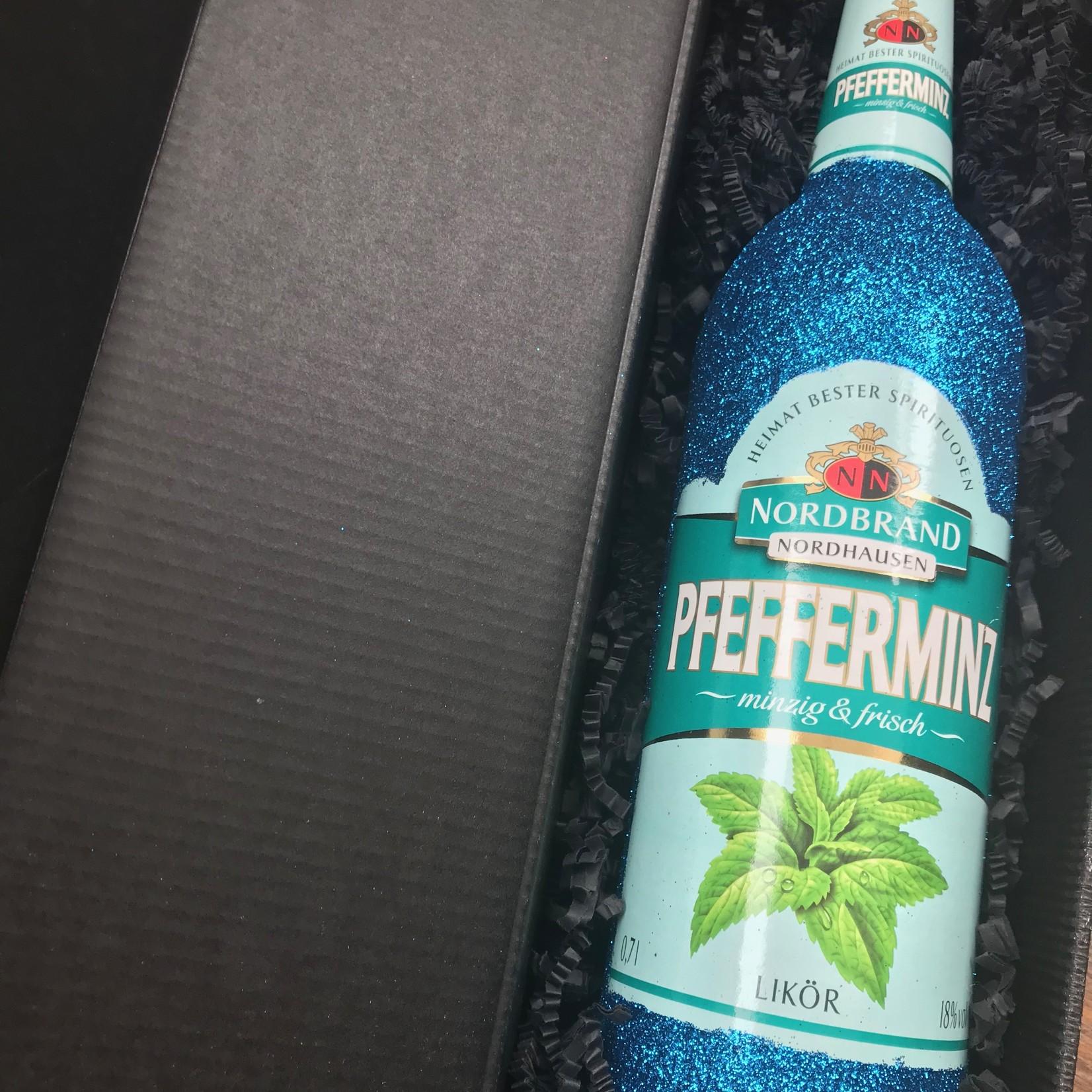 Geschenkset Glitzer Geschenkset Nordbrand Pfeffi (0,7l)