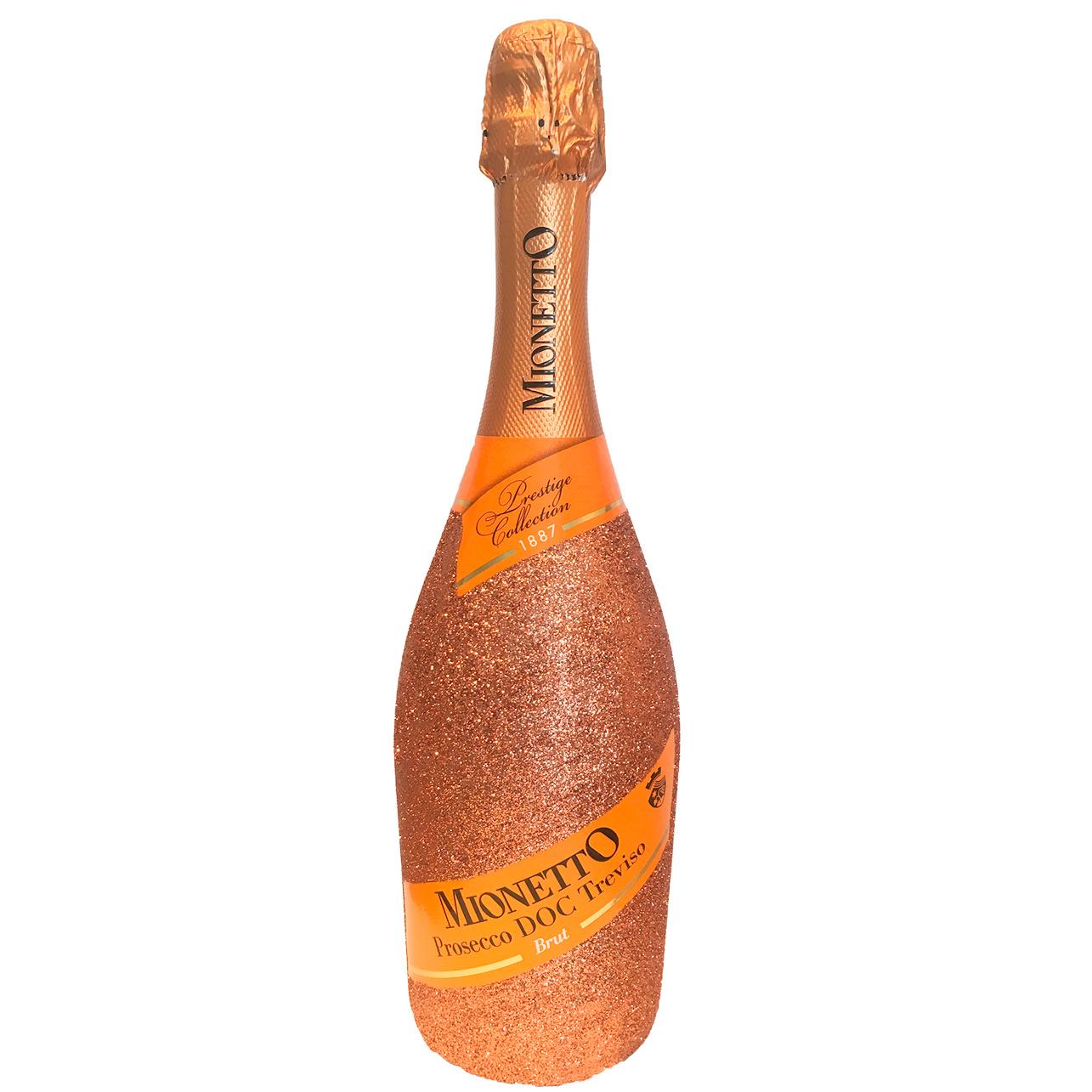 Champagner & Secco Glitzer Mionetto Prosecco Spumante DOC (0,75l)